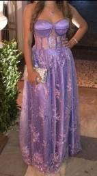 Vestido Festa Lavanda