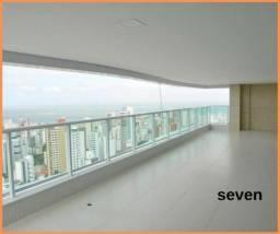 Em 261m², Apartamento Riservatto Graça , 4suítes, 4 vagas, Pronto para morar/ seven