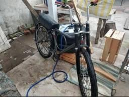 Bicicleta barra forte toda montadinha pneus kenda flame