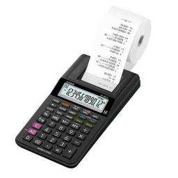 Calculadora de bobina Casio HR-8RC 12 dígitos Nova na caixa Whatsapp 99904-1414