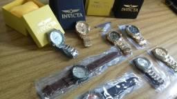 Relogios invicta de Luxo pesados na caixa