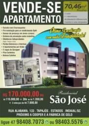 Apartamento 70,46m com suite