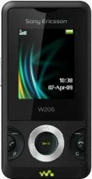 Sony Ericsson W205 Single 1.3mp Preto