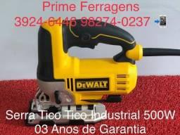 Serra tico tico industrial Dewalt 500W