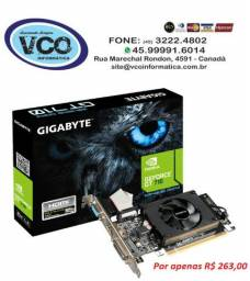 Placa de Vídeo GT-710 2GB Ddr3 Pci-E Gigabyte