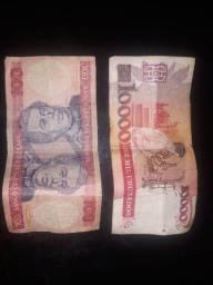 Dinheiro antigo para colecionadores