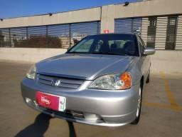 Honda Civic automático 2001 impecável!