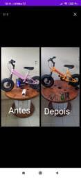 manutenção geral de bike