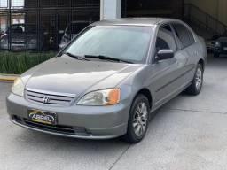 Civic Sedan LX 1.7 16V 115cv Mec. 4p - 2001