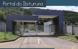 Lotes no Portal do Ibituruna (de 470 a 843 m²). Financ próprio em 100 X. Entrada Facilitad