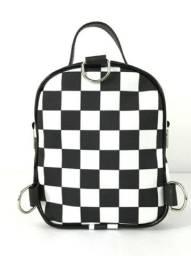Mini bolsa xadrez