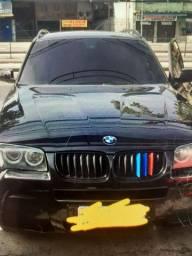 VENDO BMW X3 2.5, GNV, BLINDADA. R$ 38.900,00