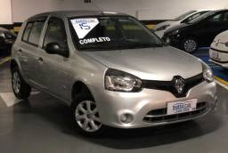 Renault Clio Completão Flex Impecável Todo Revisado IPVA 2020 Vistoriado