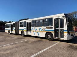 Ônibus articulado 2008, Neobus, VW 17230, 64l, R$ 33 mil