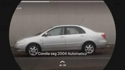 Vendo Corolla seg 2004 Automatico