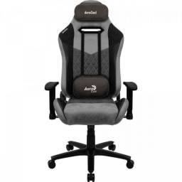 Cadeira Gamer Duke Ash Black Aerocool Profissional ergonômica