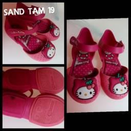 Calçado infantil sandália
