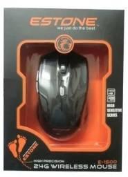 Mouse Gamer Wireless Estone E-1500 - Imperium Informatica