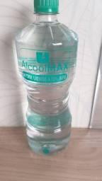 Álcool líquido 500 mL e 1L