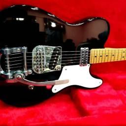 Guitarra Fender Squier Cabronita Custom Telecaster Bigsby No Precinho, de 5999 por 4999