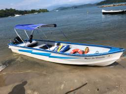 Barco fibra casco duplo 7metros