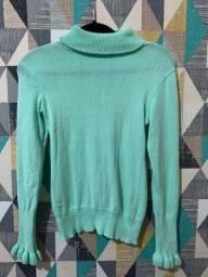 Blusa básica de lã