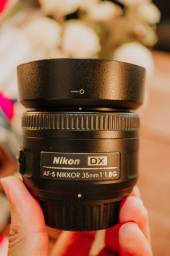 Lente Nikon 35mm 1.8dx