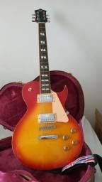 Guitarra Less Paul SX + Case Original - estado de nova