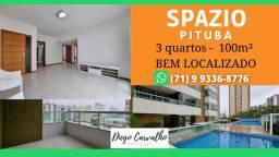 Título do anúncio: Spazio Pituba - Apartamento 3 quartos Pituba, sendo 2 suítes- Oportunidade (R4)