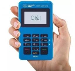 Título do anúncio: Point Mini Chip - A Maquininha De Cartão Do Mercado Pago Nfc - Frete Grátis