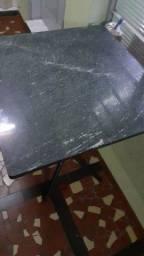 Mesa com pedra  d mármore