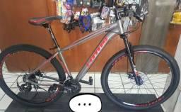 Bicicleta aro 29 toda Shimano com MegaRange. ZERO! NA LOJA!