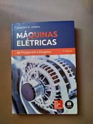 Vendo livro de máquinas elétricas Fitzgerald e Kingsley 7a edição