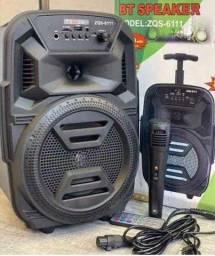 Rádio MP3 novo na caixa