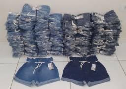 Short Jeans Feminino 36 a 44 tamanho