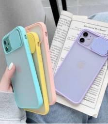 Capa para Iphone 11 com Proteção de Lente de Câmera para Celular