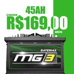 Promoção! Baterias 45Ah R$169,00
