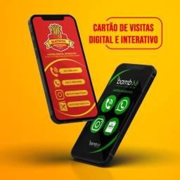 Título do anúncio: Cartão de Visitas Digital e Interativo   Designer Gráfico