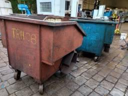 Caçamba container cavacos metais sucata