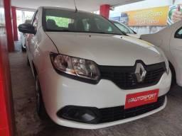 Título do anúncio: Renault logan 2019 -1.0 com KIT Gás GNV G5 - COMPLETO