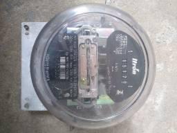 Título do anúncio: Medidor de energia elétrica Itron 220 volts trifásico usado