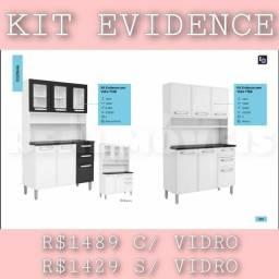 Título do anúncio: Armário evidence sem vidro
