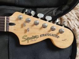 Fender Squier standart e Boos Me 25 12x no cartão