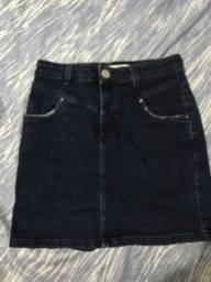 Saia jeans tamanho 38