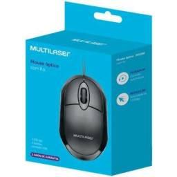 Mouse Mo300 Usb Óptico Multilaser Preto
