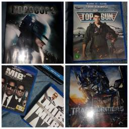 Lote DVDs originais blu-ray E 3D