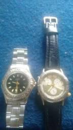 TORRO; Dois Relógios Por R$ 65.00, MOHAWK & TECHNOS, Funcionando Perfeitamente