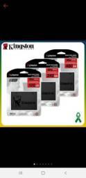 SSD Kingston A400, 480GB, 240GB, 120GB, M.2, Leitura 500MB/s, Gravação 450MB/s