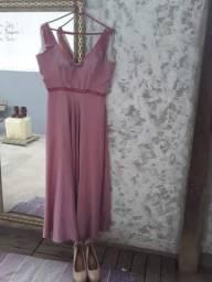 Título do anúncio: Vestudo de festa rosa GG