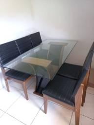 Título do anúncio: Meda de jantar 6 cadeiras 160x80